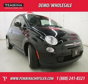 2014 FIAT 500 Pop *MANUAL TRANSMISSION, LOW KMS*
