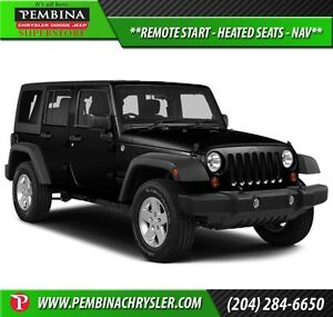 2013 Jeep Wrangler Unlimited Rubicon *REMOTE START, HEATED SEATS