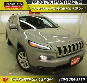 2015 Jeep Cherokee North *NEVER OWNED, COLD WEATHER PCKG, REAR C