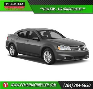 2012 Dodge Avenger Base *LOW KMS, AIR CONDITIONING*
