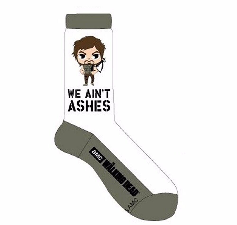 The Walking Dead Daryl Dixon Chibi Crew Cut Socks