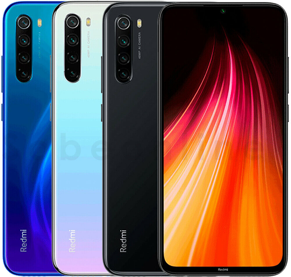 "Android Phone - Xiaomi Redmi Note 8 32GB 3GB RAM (FACTORY UNLOCKED) 6.3"" Dual-SIM 48MP (Global)"