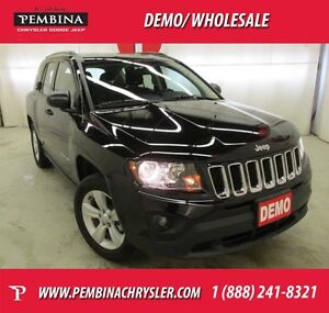 2015 Jeep Compass Sport *LOW KMS, NEVER OWNED, 4X4*