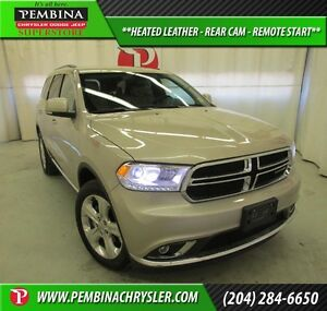 2015 Dodge Durango Limited *HEATED LEATHER, REAR CAM, REMOTE STA