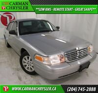 2008 Ford Crown Victoria LX *LOW KMS, REMOTE START, GREAT SHAPE*