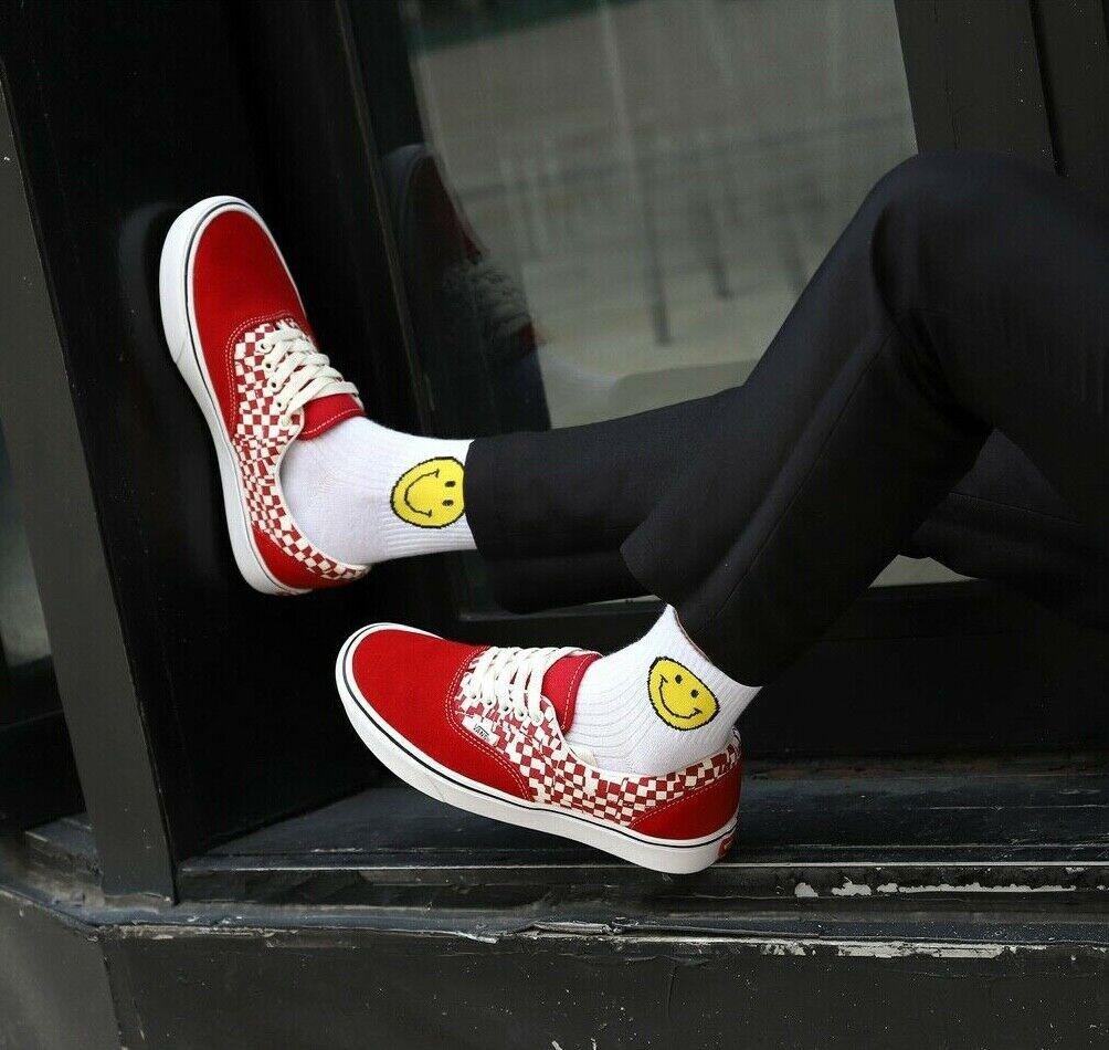 Mens Vans Comfycush Era Tear Check Size 11 Classic Skate S