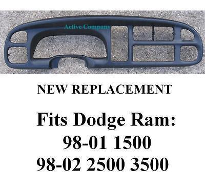 Dodge Ram Dash Dashboard Bezel Replacement radio instrument cluster gauge trim b