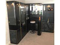 Luxury Italian Designer Drinks/Cocktail bar unit RRP £6000