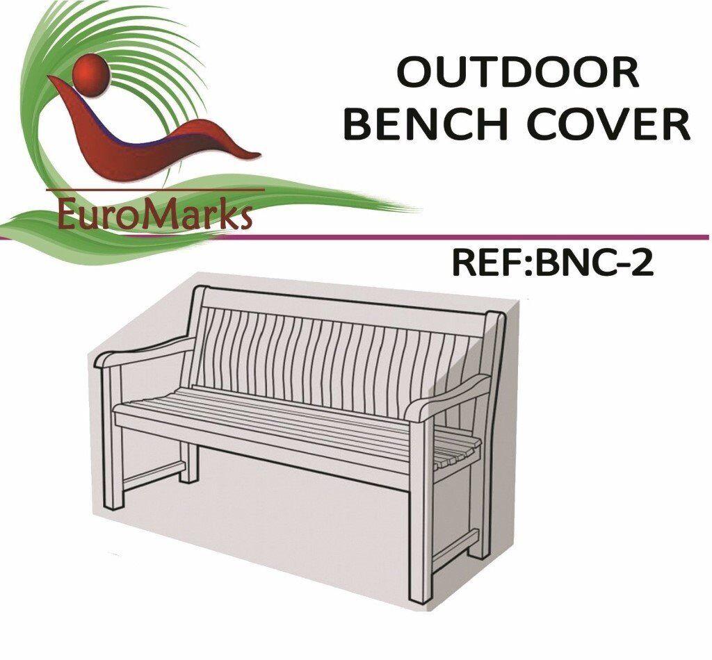 Heavy Duty Waterproof Garden Outdoor 2 Seater Bench Seat Cover
