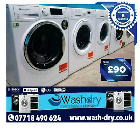 Washing Machines, Dryers, Fridges, Cookers & More From £90, All Come With Warranty, Can Be Delivered