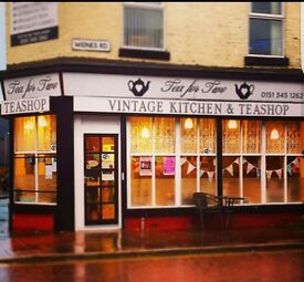TEASHOP&KITCHEN (THRIVING,QUAINT,VINTAGE,NOSTALGIC) FOR SALE** ALL FIXTURES&FITTNGS INC READY TO GO