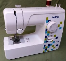 SEWING MACHINE Brother LS14 FULLY SERVICED & STITCH TESTED