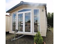 Luxury Static Caravan for Sale 2 Bed- French Doors- Double Glazed- Central Heated
