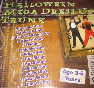 HALLOWEEN FANCY DRESS TRUNK. 7 OUTFITS KIDS  27 PC - Kid Trunks Kostüm