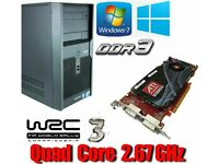 Workstation PC, Quad Core 2.67GHz, FirePro, 4GB Ram, 320GB HD