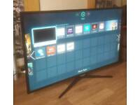 "Samsung 50"" Smart LED HD TV FREEVIEW WIFI ETC"