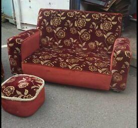 vintage 1930's settee