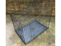Pet Cage (Black) for either a Dog or Cat