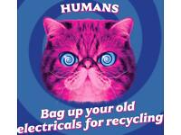 Recycle your old electrical items and cables