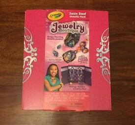 Crayola jewellery boutique