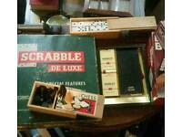 Games. Vintage. Board games.