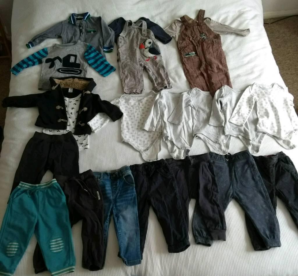 b4fbe02db Baby Boy Clothes Bundle 12-18 months