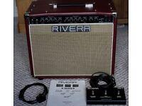 Rivera Chubster 40 Valve Guitar Amplifier with Celestion Vintage 30 UK + Cover