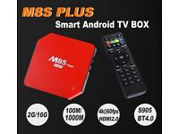 M8S+ PLUS Android TV Box 2GB/16GB S905 Quad Core HD 5GHZ WIFI Kodi