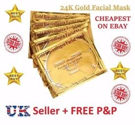 24K Gold Bio Collagen Face Facial Mask