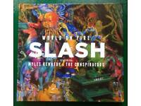 Slash Featuring Myles Kennedy 'World On Fire' Limited Edition CD.