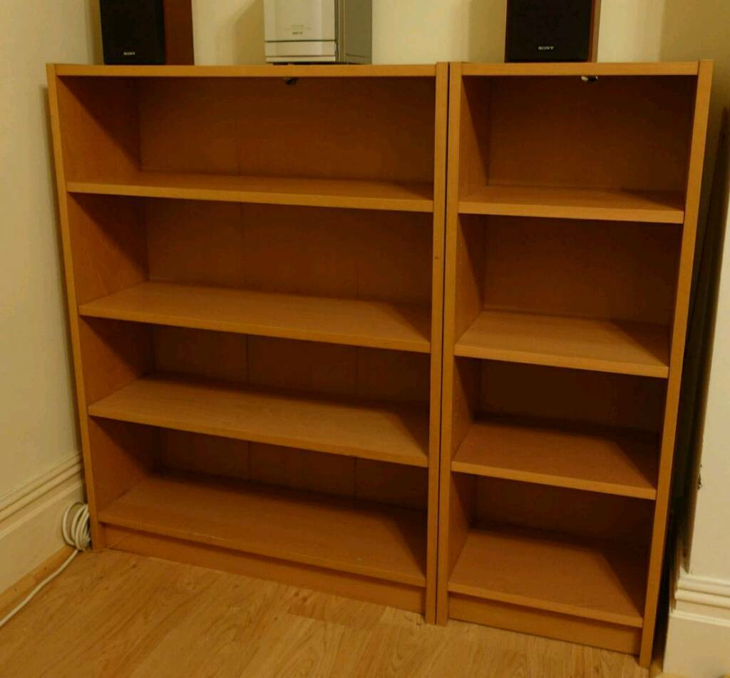 Bookcases/ Shelving unitsin Portsmouth, HampshireGumtree - Oak veneer bookcases/ shelving units in good conditions. Smaller unit 40x28x106 cm £10, bigger unit 80x28x106 cm £20. Sold together or separately. From a smoke free and pet free home. Collection only from North End/Hilsea area