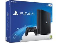 PlayStation 4 Pro - boxed with 5 games