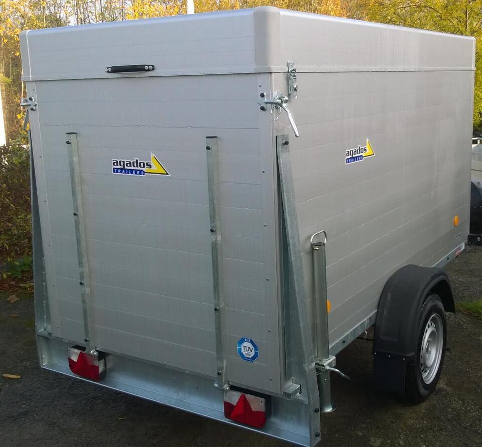 AGADOS PKW Anhänger, Deckelanhänger ALU 2490x1240x1400,1200kg,NEU in Siek