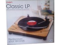 ION Classic LP USB conversion turntable