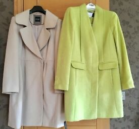 Two brand new coats size 14. Will sell separate for £60 or together for £100