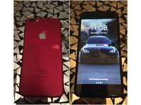 USED Apple iPhone 6 to IPhone 7 CONVERSION - 16GB - RED (Unlocked) Smartphone