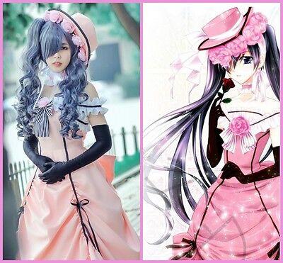 Ciel Phantomhive Anime ブラックデーコン Cosplay Kostüme Kleider Abendkleid