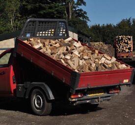 2 year seasond hard wood logs £60 large load