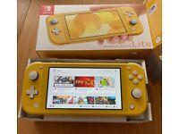 Nintendo Switch Lite - Yellow - Boxed