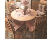 Wooded Dining Table & Chairs- FOR SALE!!