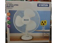 12 INCH DESK FAN IN BOX