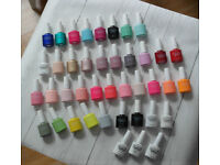 LED lamp and Gel Polish x36 colours with basecoats, topcoats, swatches, and Lamp.