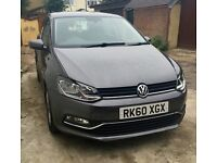 VW POLO 1.4SEL DSG 7 SPEED AUTO 2010 FACELIFTED 2015 GREY 5DOOR damage repaired