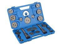 new and sealed Universal 22pc Disc Caliper Brake Piston Rewind Tool Kit