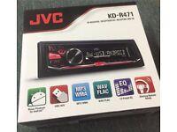 JVC KD-R471 CD MP3 USB Car Stereo