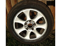 """BMW 1 series 16"""" alloy wheel"""