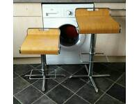 2 gas lift bar stools