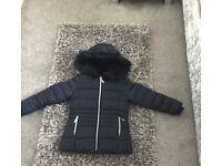 Girls school coat
