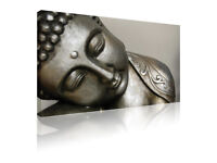 """20""""X30"""" Wall art print Buddha to the side zen tranquil canvas picture"""
