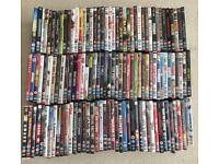Job lot of 125 used DVDs for sale. All in good working order